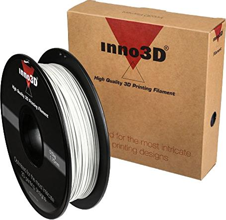 Inno3D ABS Filament for 3D Printer 1.75x200mm 0.5kg White Ref 3DPFA175WH05