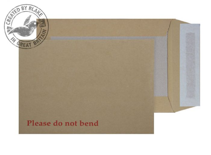 Purely Packaging Envelope Board Backed P&S 120gsm C5 Manilla Ref 5112 [Pack 125] *3 to 5 Day Leadtime*