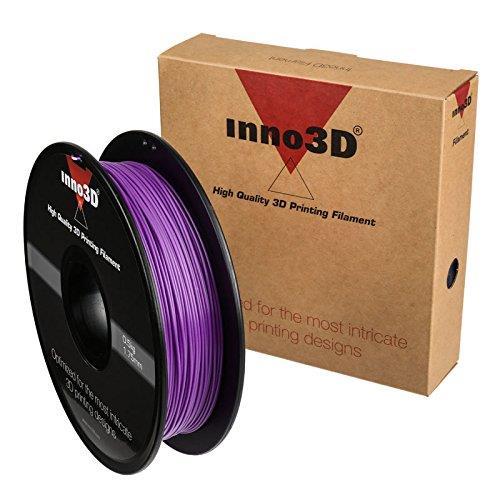 Inno3D ABS Filament for 3D Printer 1.75x200mm 0.5kg Purple Ref 3DPFA175PU05