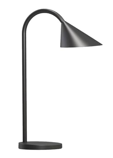 Unilux Sol LED Desk Lamp with Flexible Arm 20000 Hours Black Ref 400086979