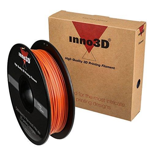 Inno3D ABS Filament for 3D Printer 1.75x200mm 0.5kg Orange Ref 3DPFA175OR05