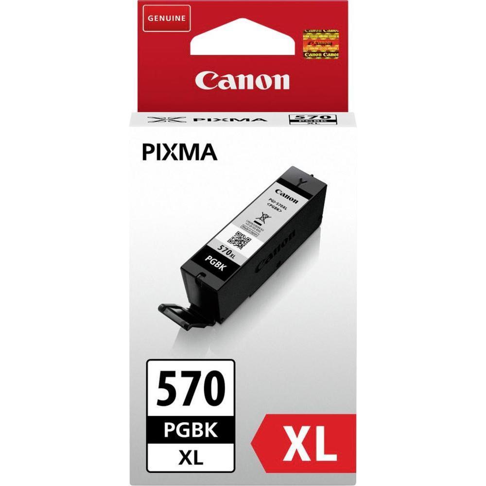 Canon PGI-570PGBK XL Ink Cartridge Page Yield 500 Black Ref 0318C001