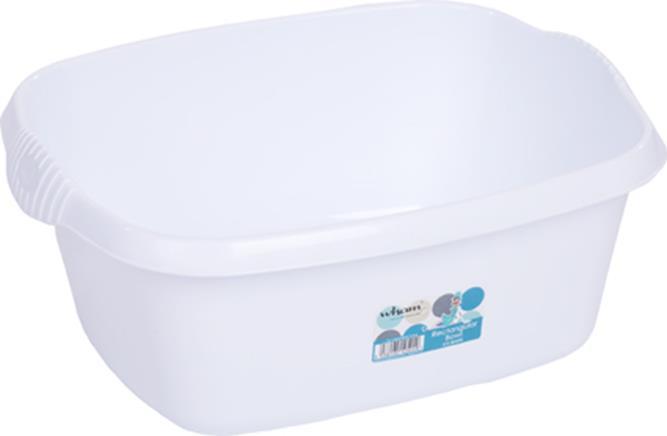 Whatmore Washing Up Bowl Rectangular White Ref 12524