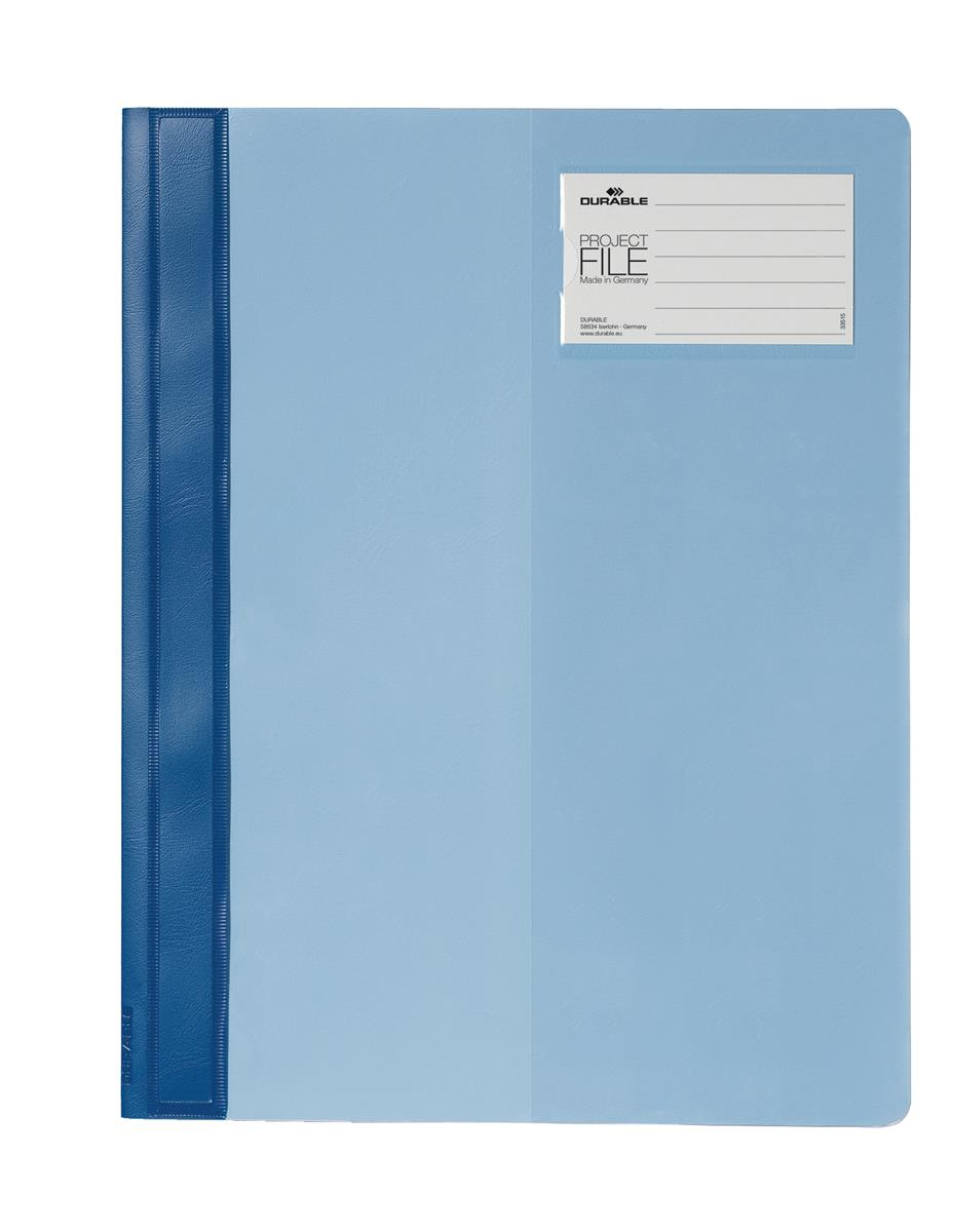 Durable Project File A4 Blue Ref 274506 [Pack 25]