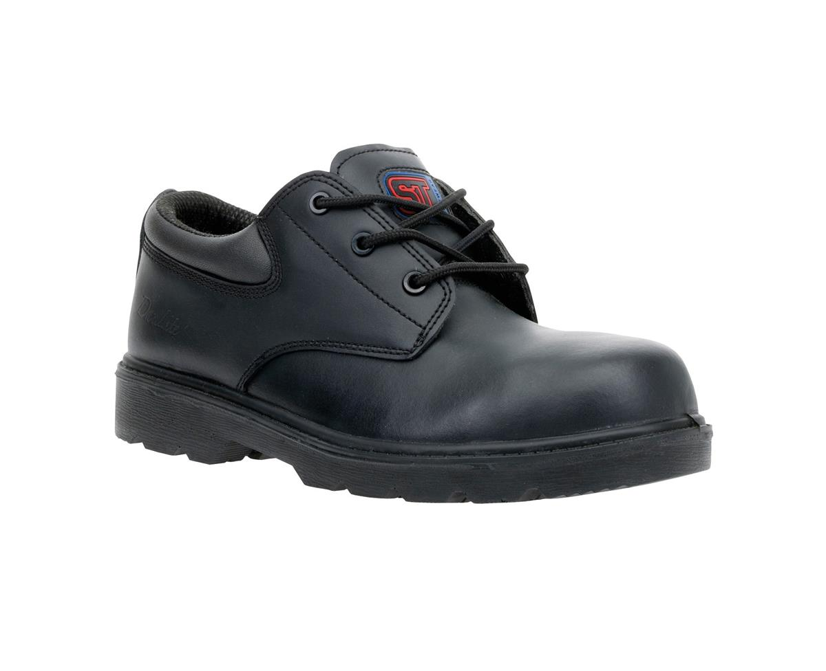 ST Dax Lite Air Comp' Shoe Metal Free Safety Toecap & Midsole Size 4 Blk Ref 9086B *Approx 3 Day L/Time*