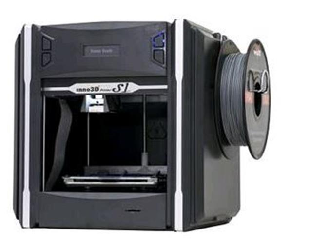Inno3D S1 3D Printer High Speed 1.75mm Filament Auto-calibration Black Ref INNO3DS1