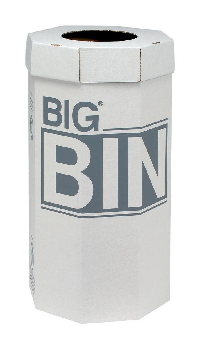 Acorn Large Bin Flat Packed Recycled Board Material 160 Litres Ref 142958 [Pack 5]