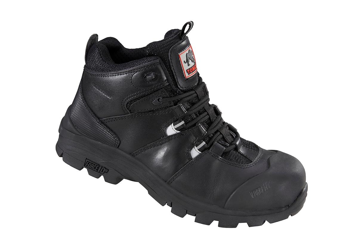 Rockfall Peakmoor Hiker 100% Non-Metallic Fibreglass Toecap Size 6 Blk Ref TC4200-6 *5-7 Day Leadtime*