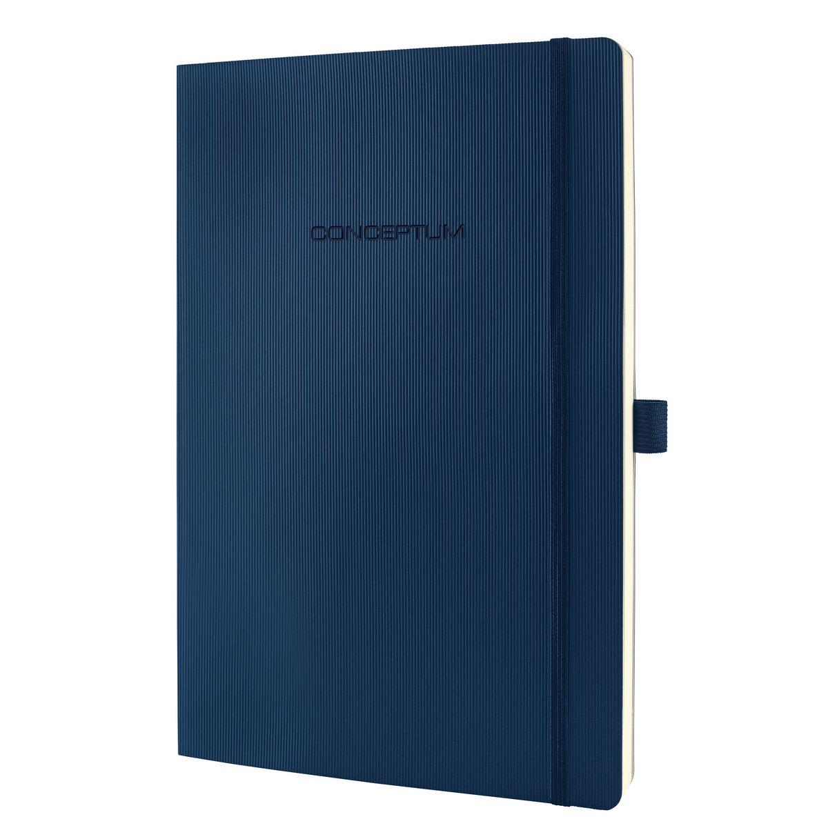 Sigel Concept Notebook Softcover Lined 80gsm 194pp PEFC A4 Blue Ref CO317