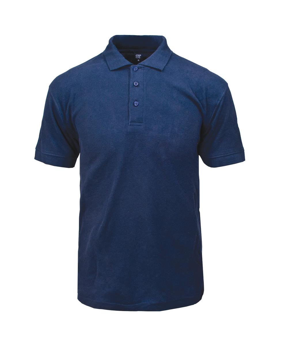 Supertouch Polo Shirt Classic Polycotton XXXLarge Navy (Pack of 1)
