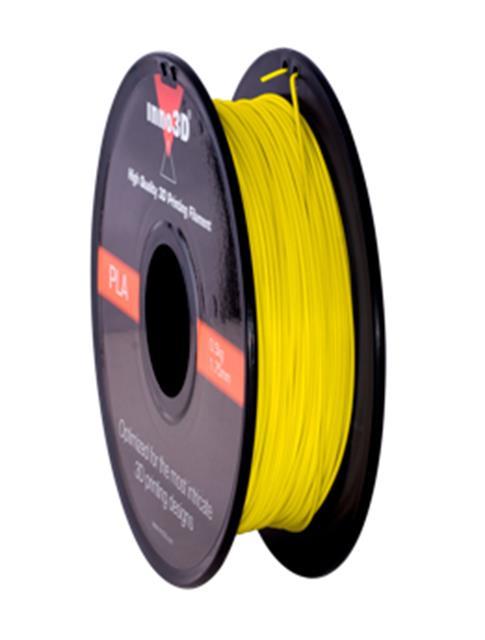 Inno3D PLA Filament for 3D Printer 1.75x200mm 0.5kg Yellow Ref 3DPFP175YE05