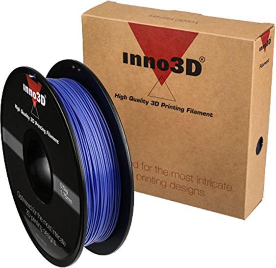 Inno3D PLA Filament for 3D Printer 1.75x200mm 0.5kg Purple Ref 3DPFP175PU05