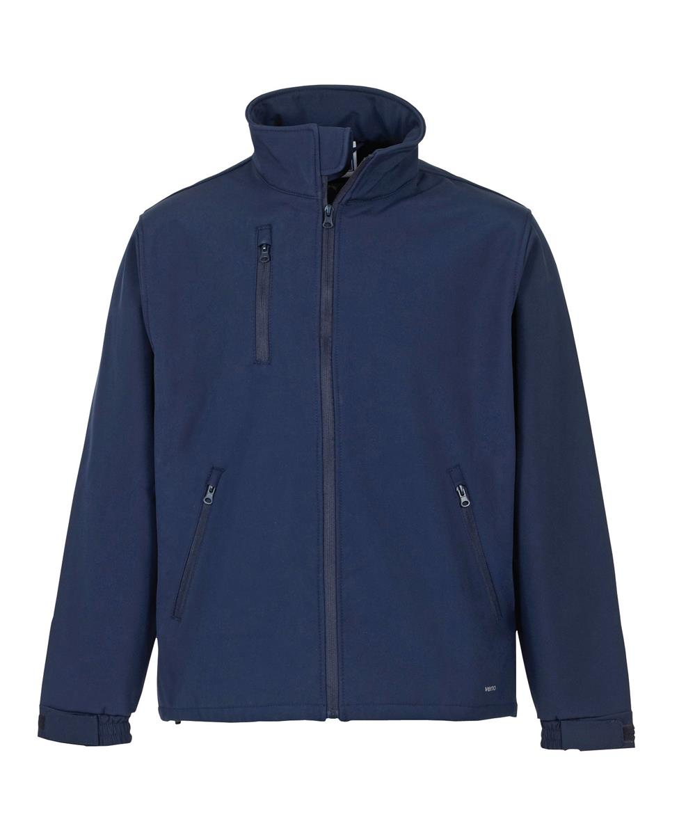 ST Verno Soft Shell Jacket Breathable and Shower Proof Medium Navy Ref 58392 *Approx 3 Day Leadtime*