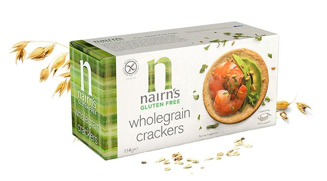 Nairns Gluten Free Wholegrain Crackers Ref 0401055 [Pack 60]