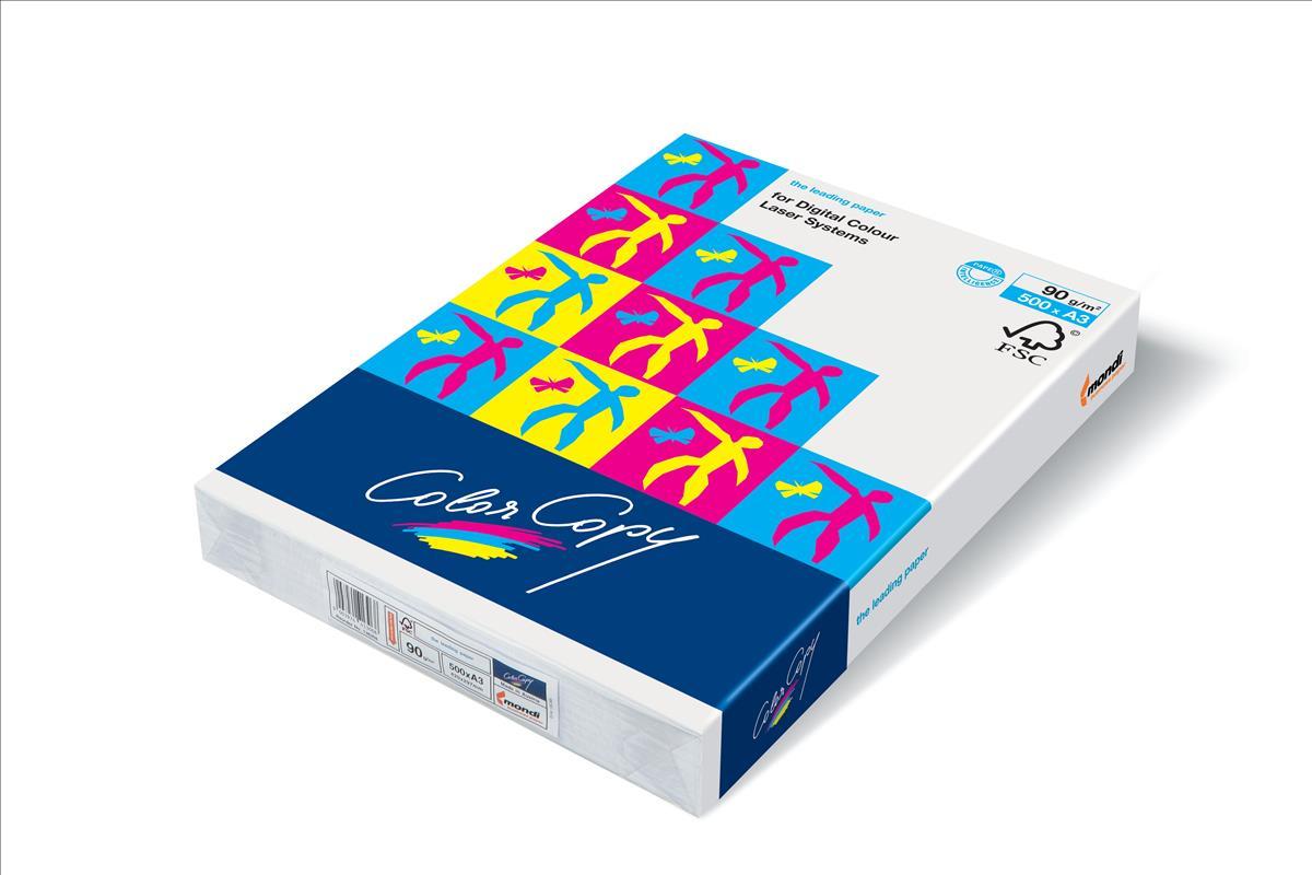 Color Copy Copier Paper Premium Super Smooth 200gsm A3 White Ref COLA3200 [250 Sheets]