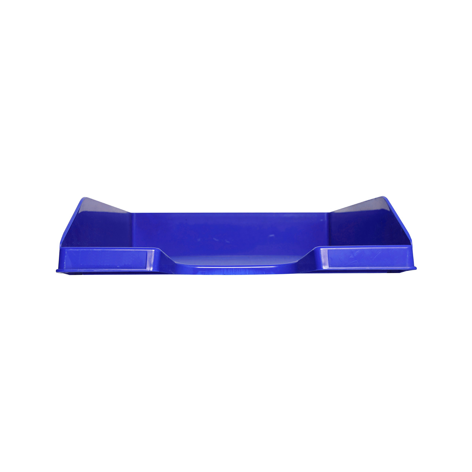 Image for Exacompta Forever Letter Tray Recycled Plastic W255xD346xH65mm Blue Ref 113101D