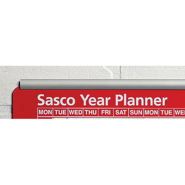 Sasco Aluminium Chart Track Two Rails Upper and Lower for Single W915mm Chart Ref 20360