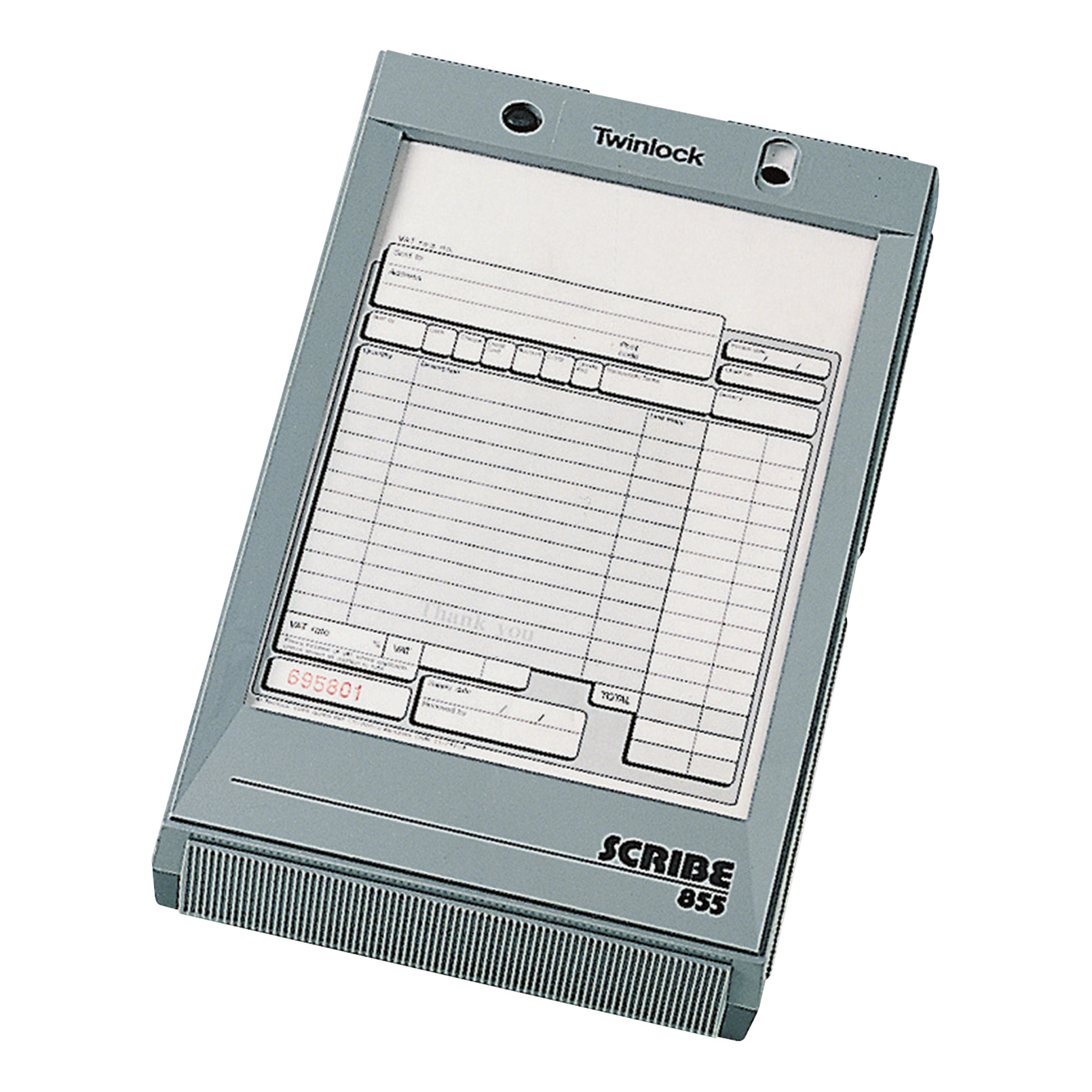 Multipurpose business book Twinlock Scribe 855 Scribe Register 264x161x49mm for Business Forms Ref 71011
