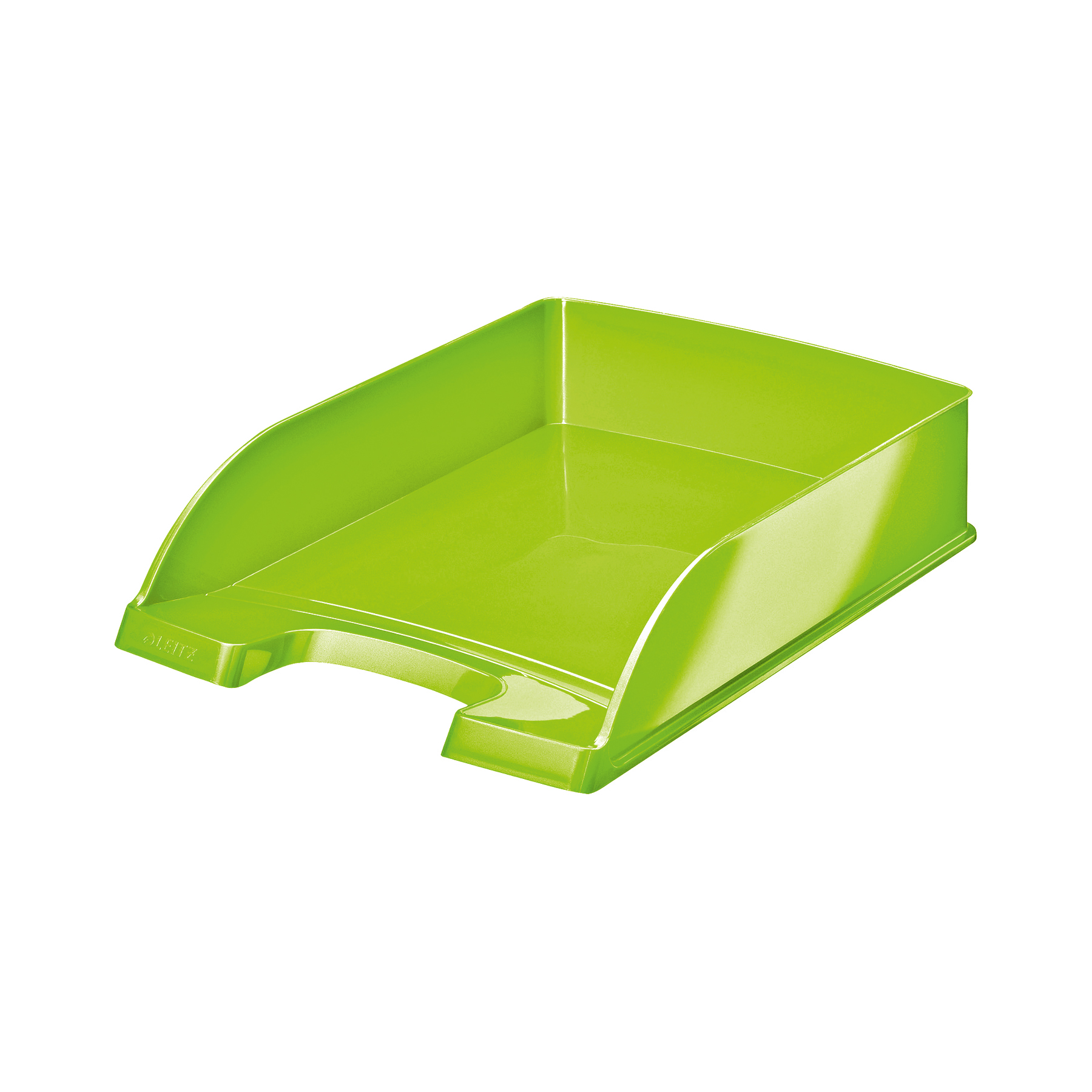 Leitz WOW Letter Tray Stackable Glossy W245xD380xH70mm Green Ref 52263054