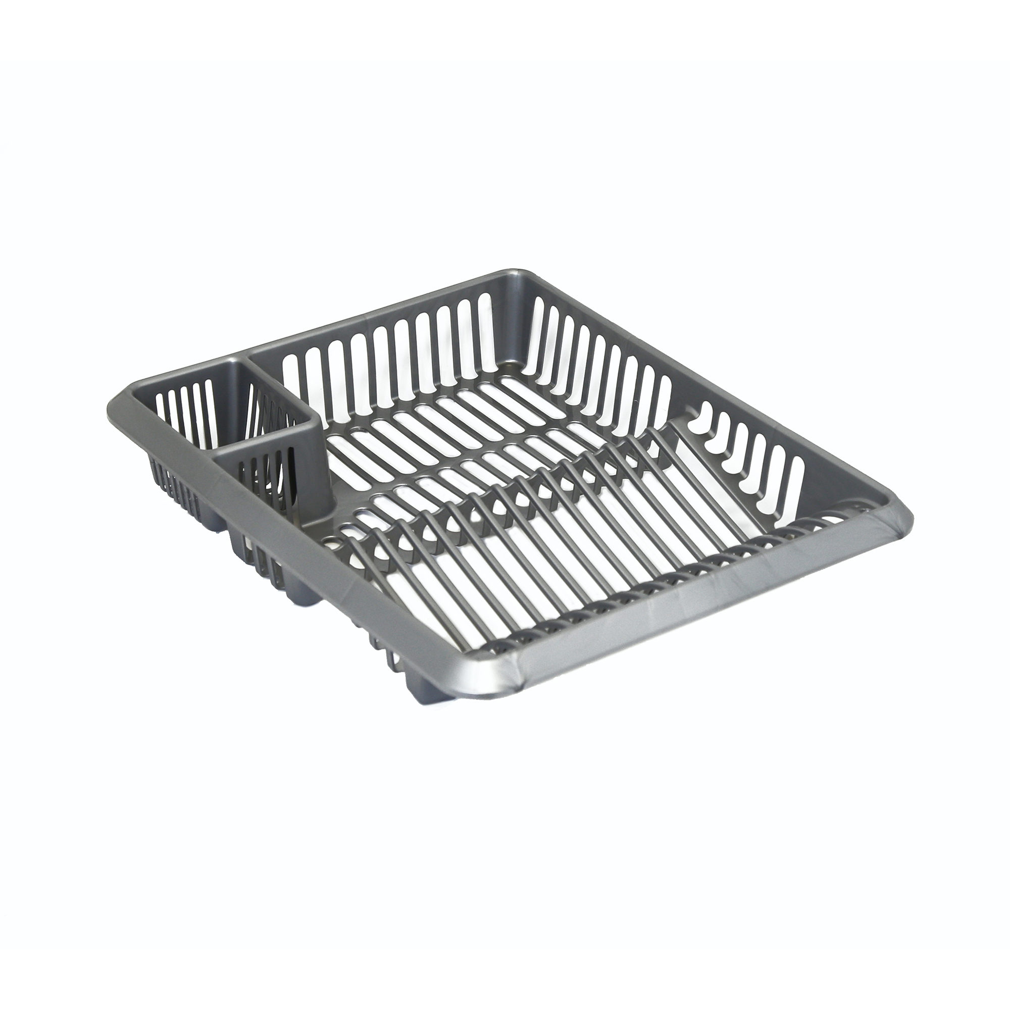Washing Up Bowls / Brushes / Drainers Plastic Dish Drainer Silver Ref SPC/DD.01