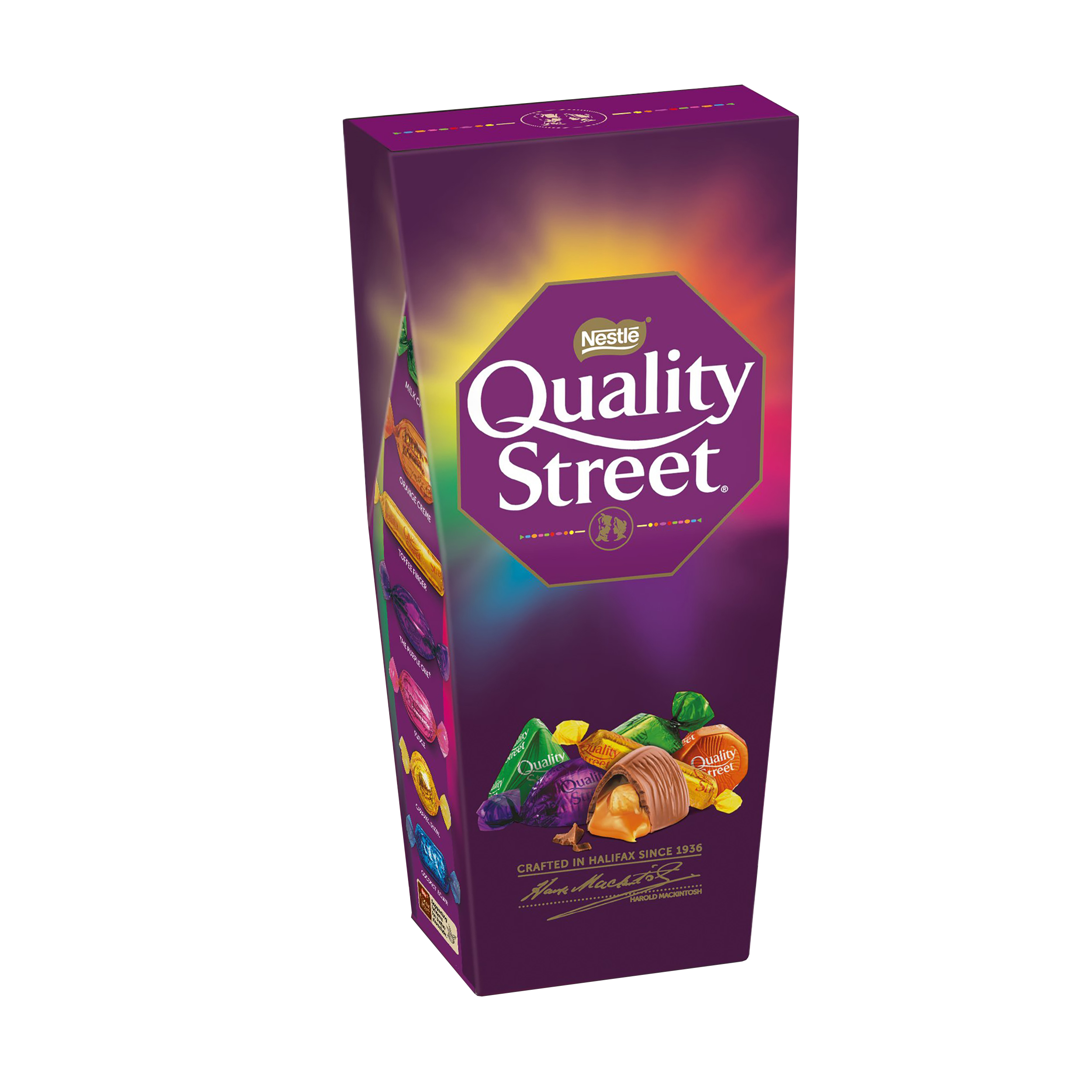 Chocolate or chocolate substitute candy Nestle Quality Street Assorted Chocolates Box 240g Ref 12394661