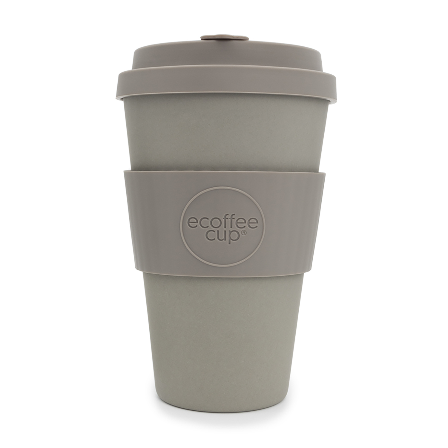 Domestic disposable cups or glasses or lids Ecoffee Eco 14oz Molto Grigio Cup Ref 0303030