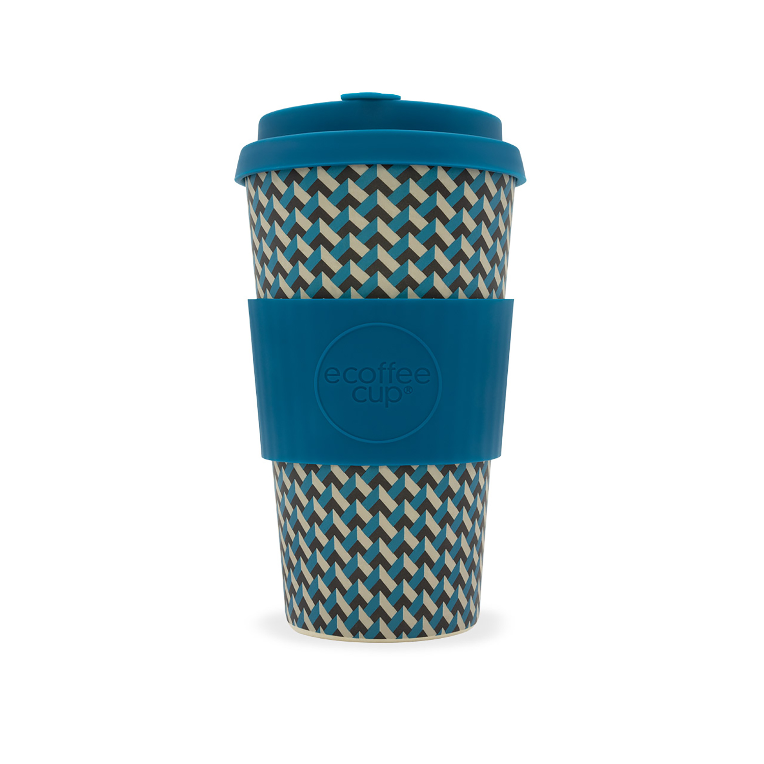 Domestic disposable cups or glasses or lids Ecoffee Eco 16oz Nathan Road Cup Ref 0303027