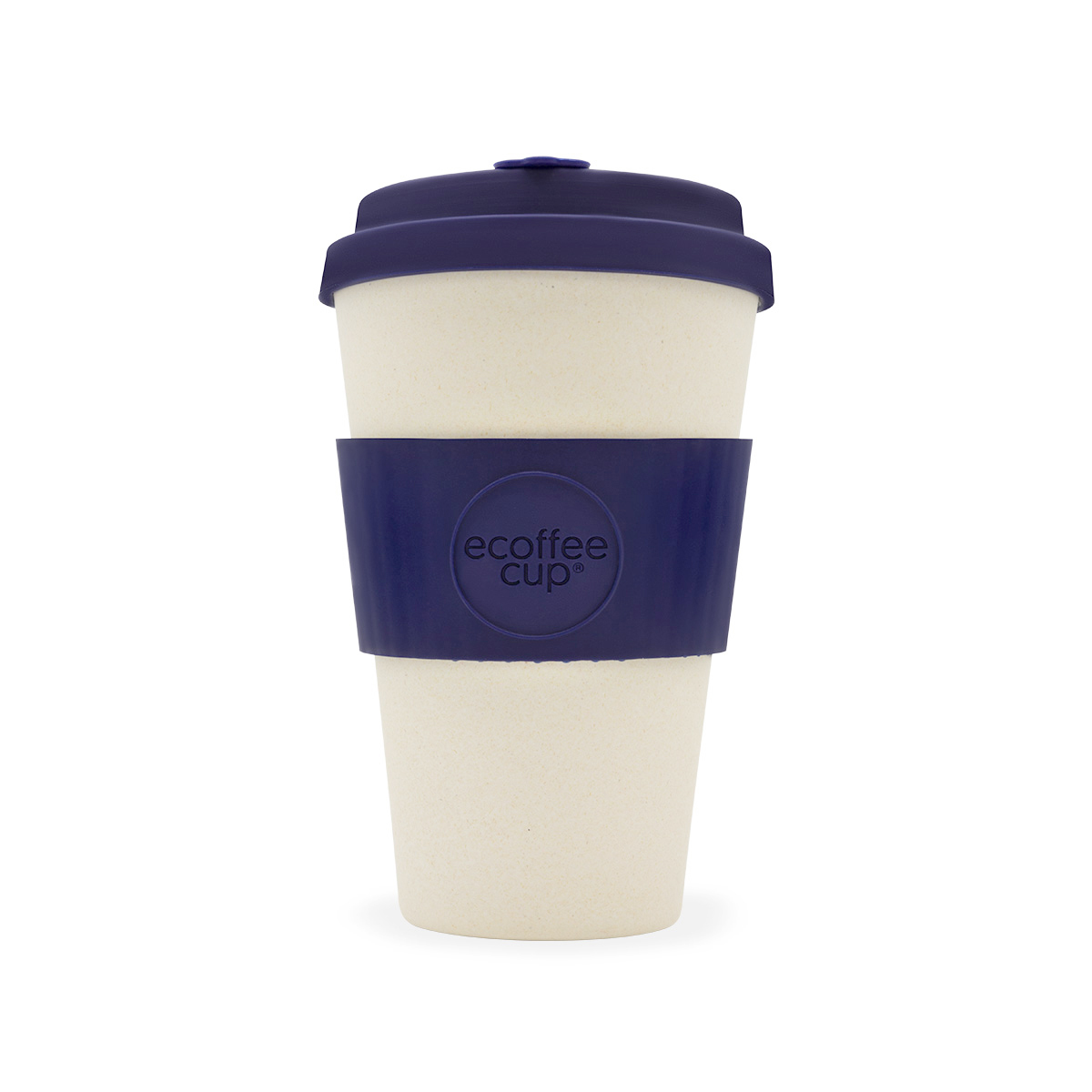 Domestic disposable cups or glasses or lids Ecoffee Eco 14oz Blue Nature Cup Ref 0303029
