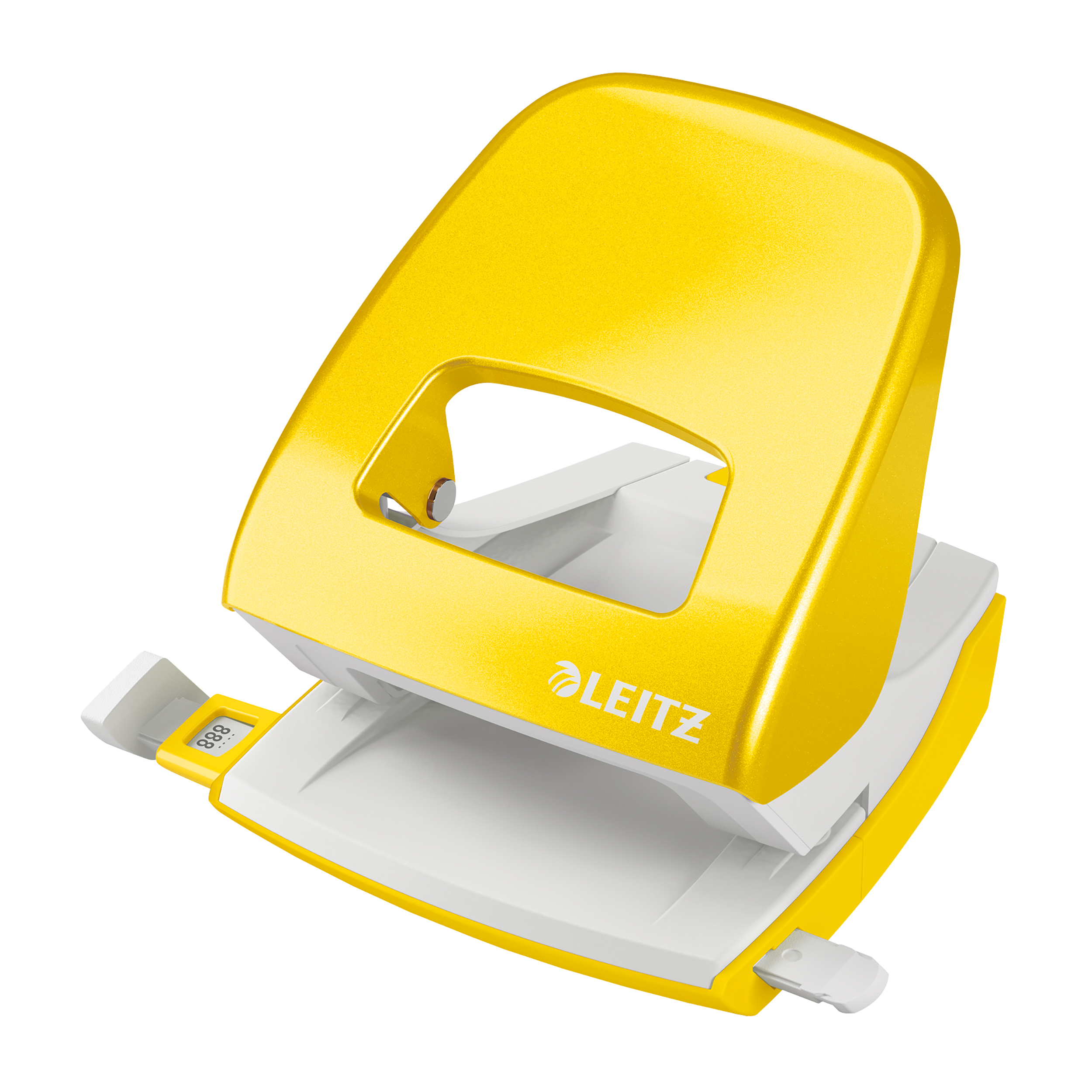 Paper or eyelet punches Leitz NeXXt WOW 5008 Hole Punch 2-Hole Capacity 30 sheets Yellow Ref 50081016 REDEMPTION Apr-Jun20