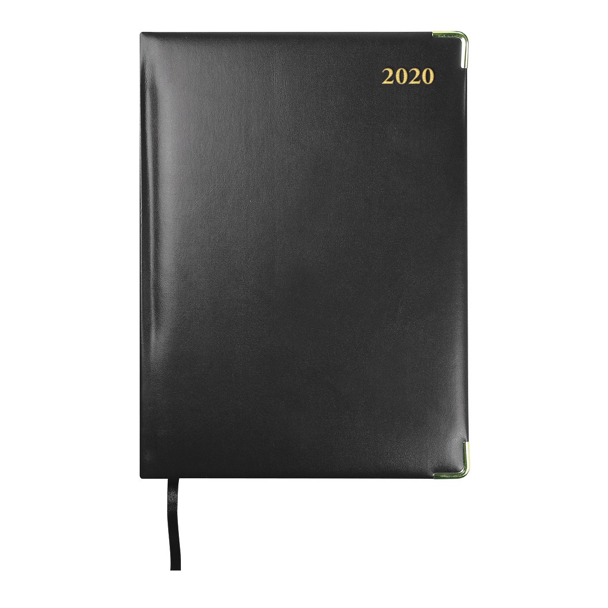 Collins 2020 Classic Compact Desk Diary Day to Page Sewn Binding 210x148mm Black Ref 1250V 2020