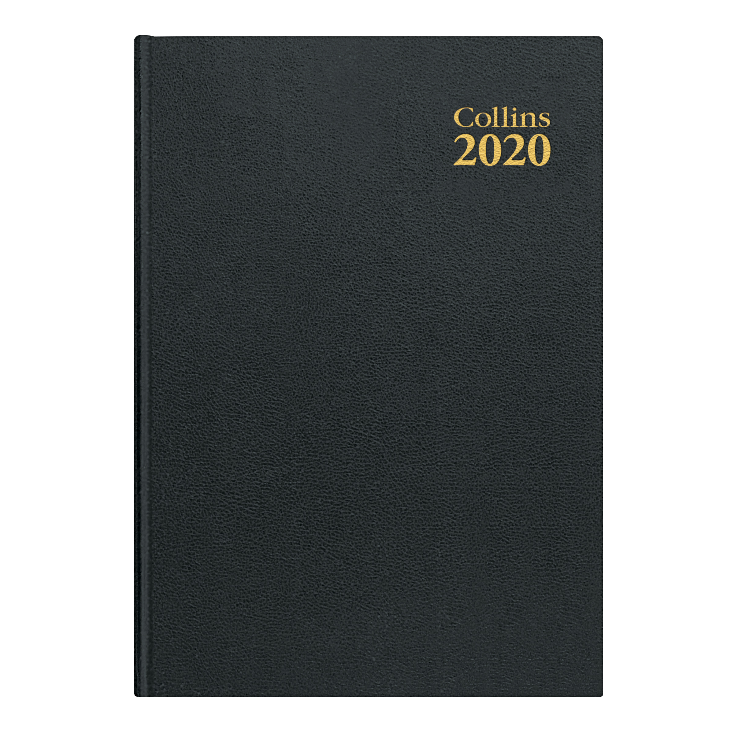Collins 2020 Desk Diary Week to View Sewn Binding A4 297x210mm Black Ref 40 Blk 2020