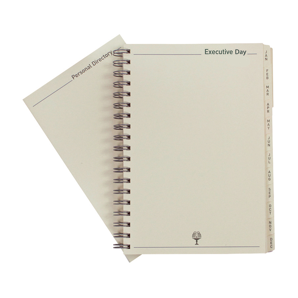 Collins 2020 Elite Executive Diary Refill Day to Page Wirobound 164x246mm Black Ref 1100R 2020