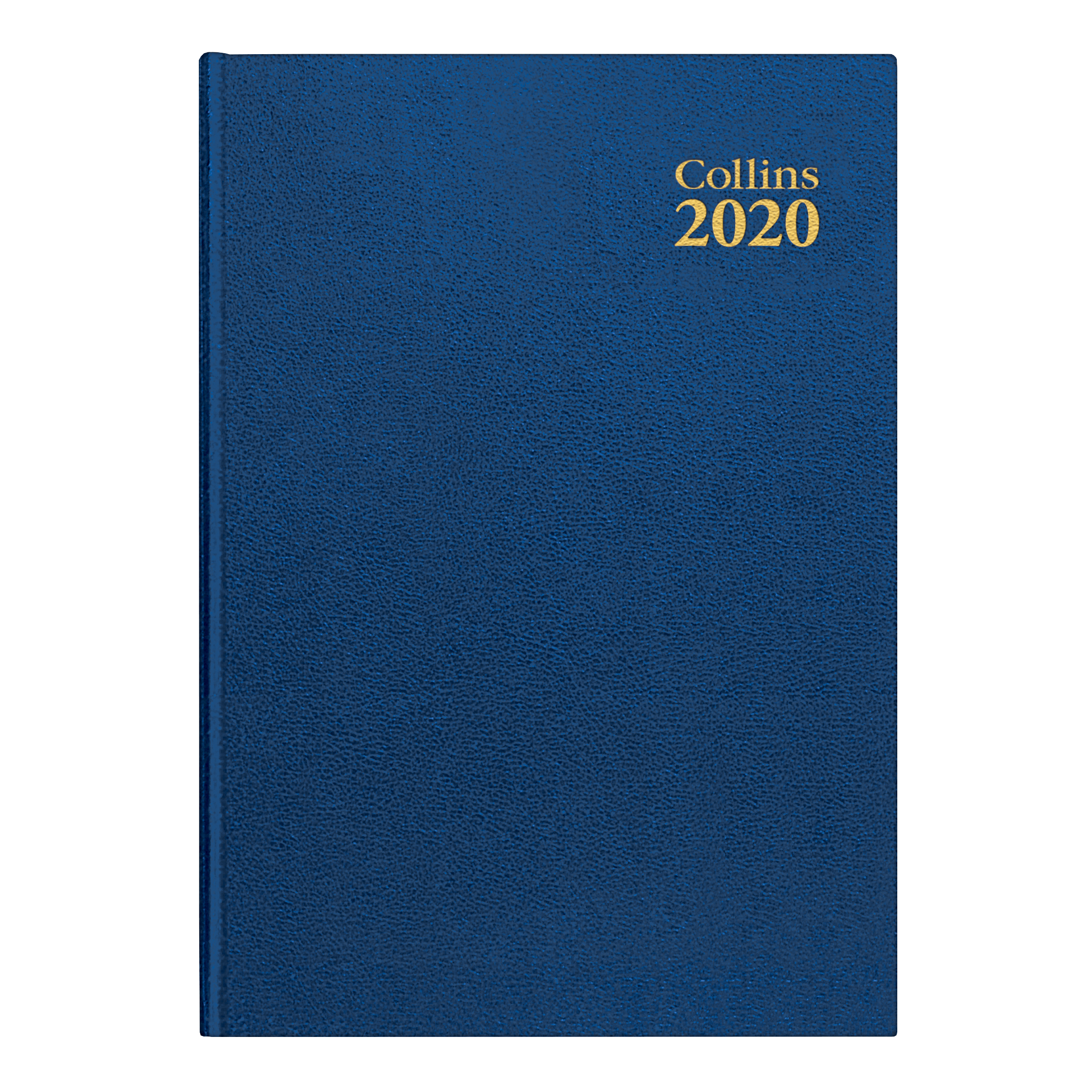 Collins 2020 Royal Desk Diary Day to Page Sewn Binding A5 210x148mm Blue Ref 52 Blu 2020