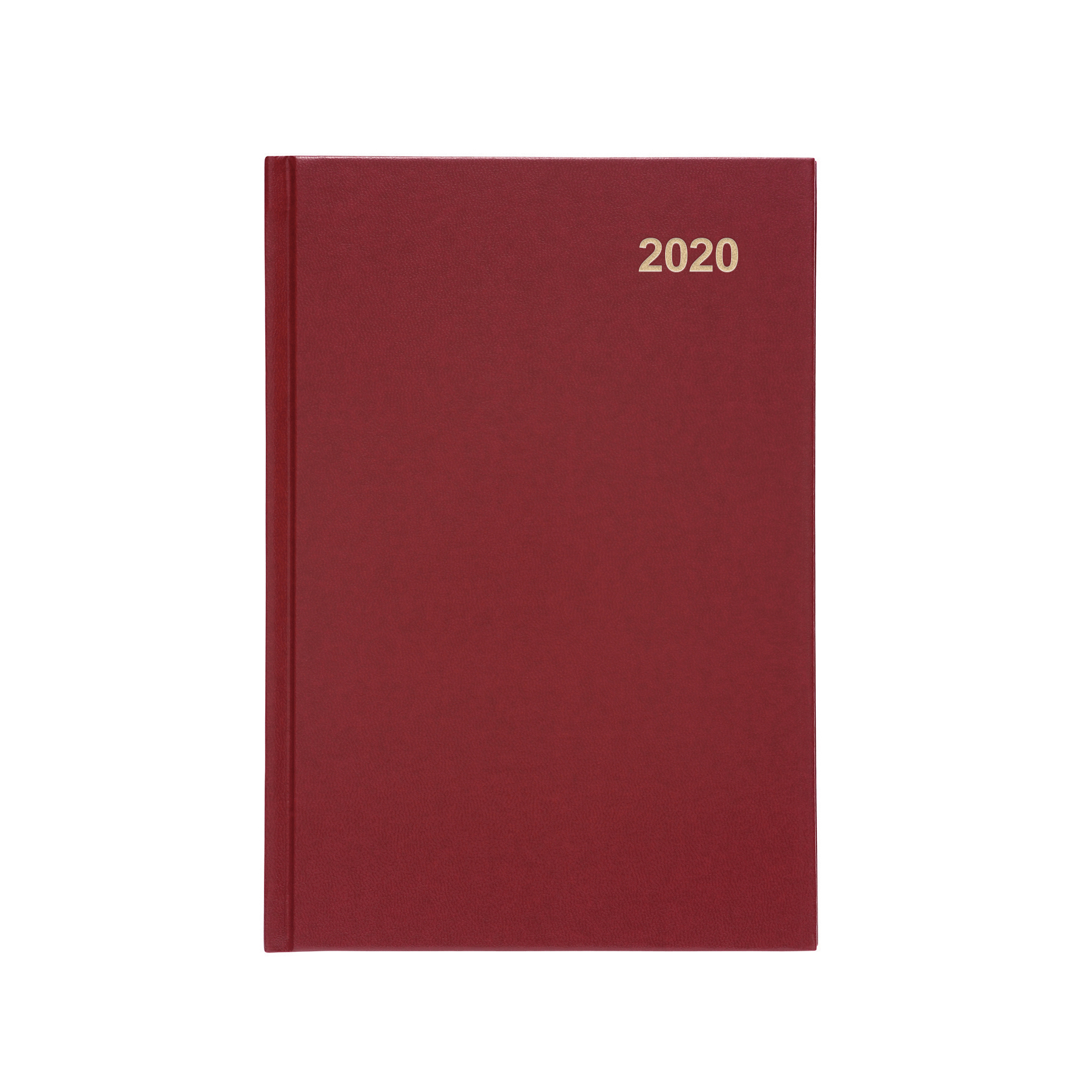 5 Star 2020 A5 Week To View Diary Red