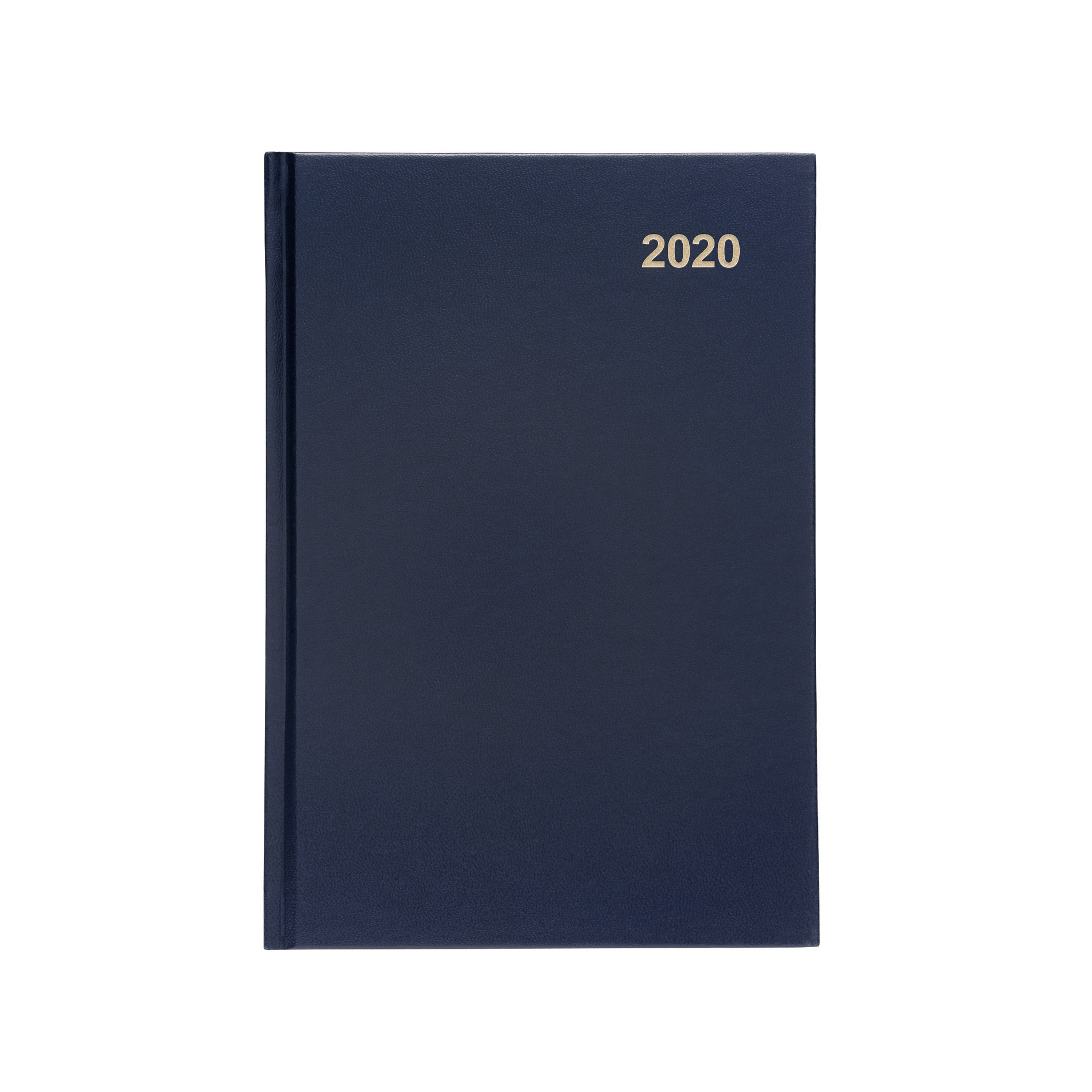 Diaries 5 Star Office 2020 Diary Week to View Casebound and Sewn Vinyl Coated Board A5 210x148mm Blue