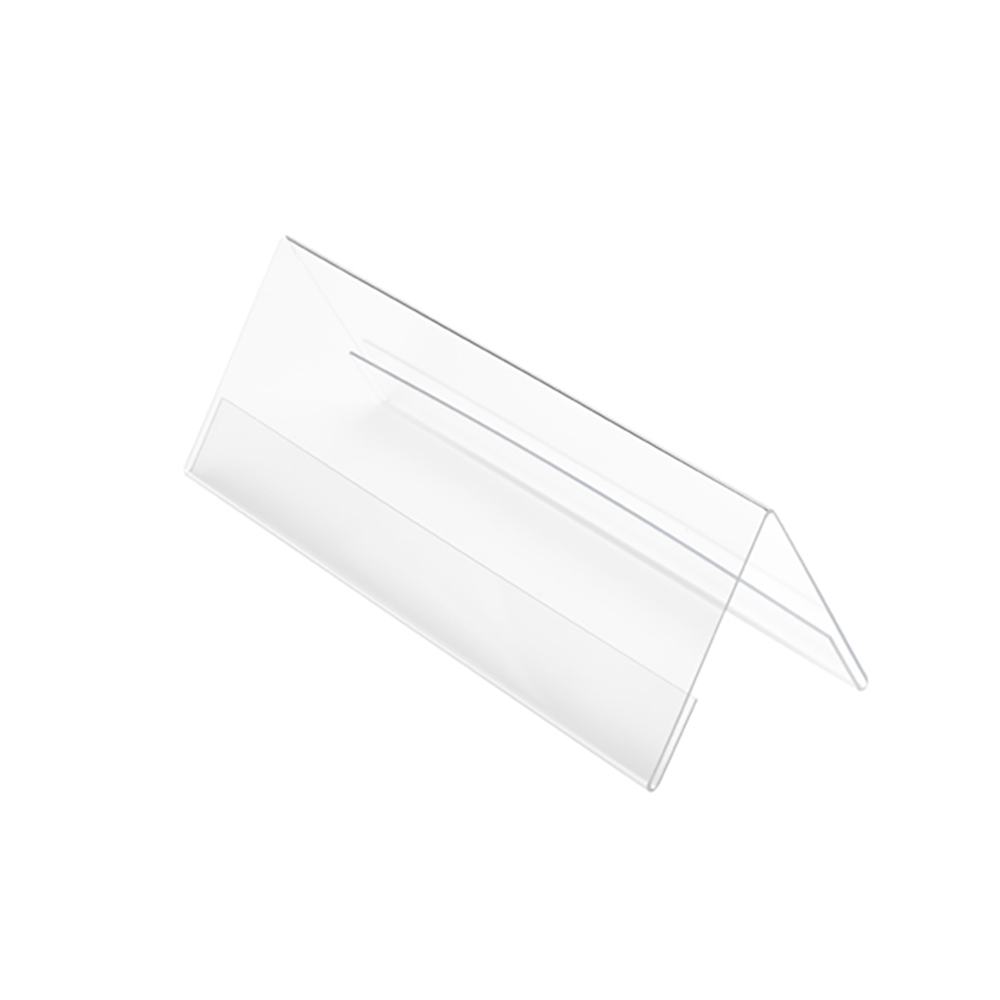 Sign holders or stands Seminar Sign Holder Tent Shaped A4 Clear
