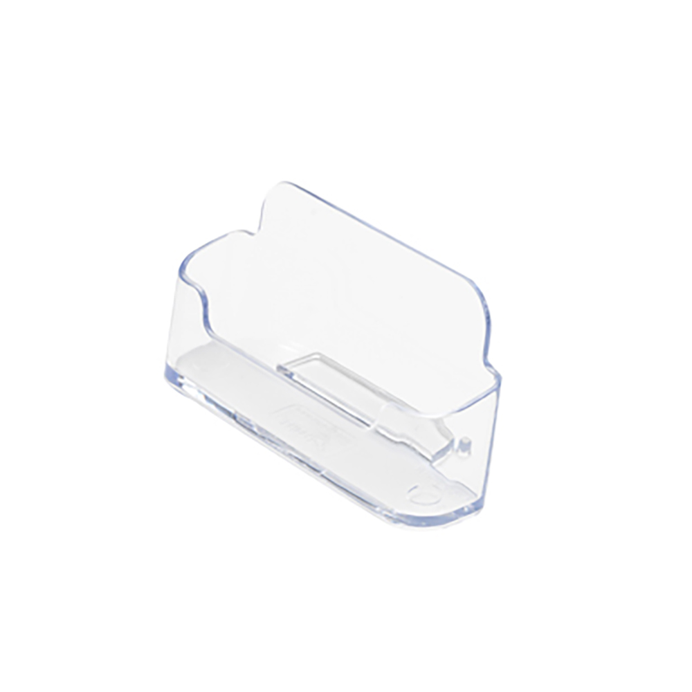 Business Card Holder Desktop Single Pocket Clear