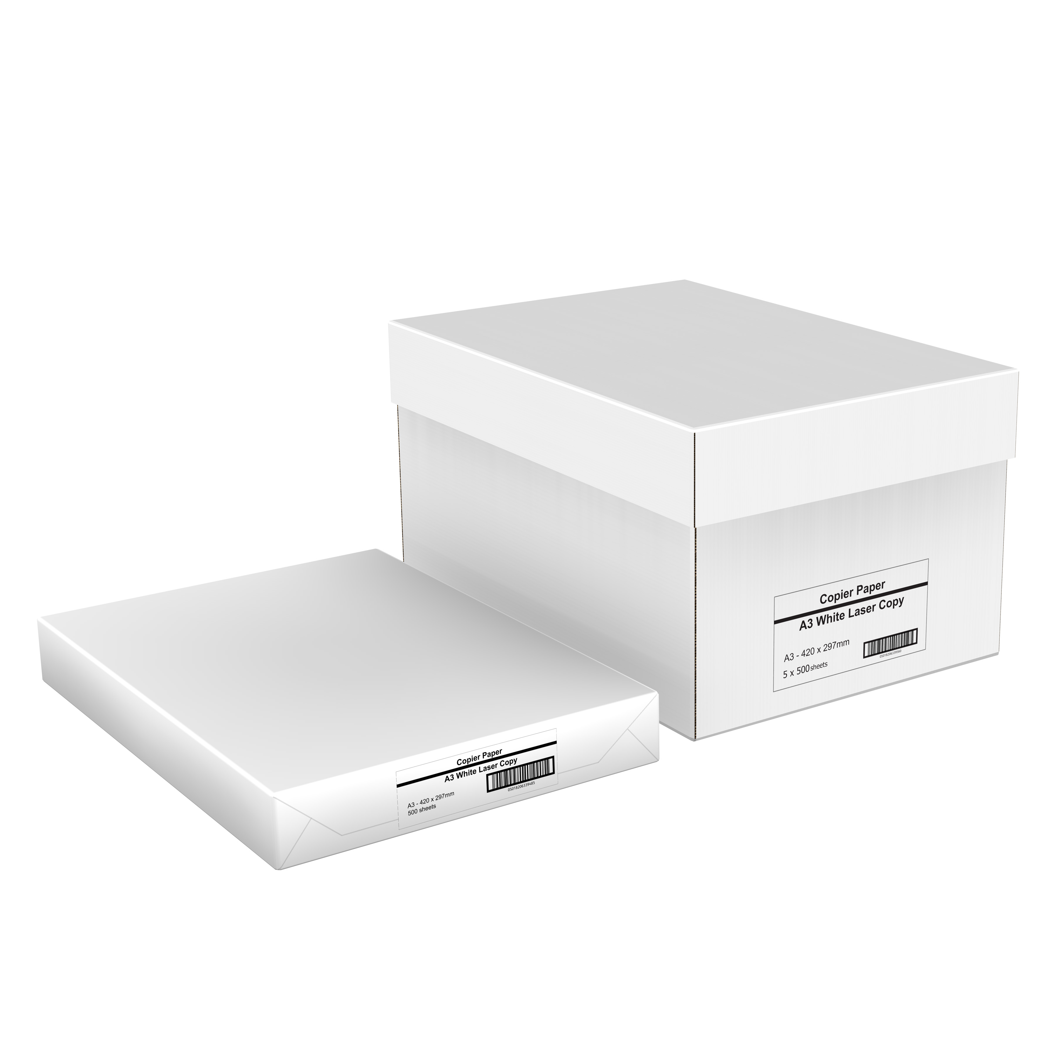 WhiteBox Paper A3 White 500 Sheets