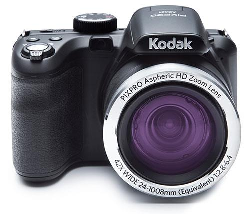 Image for Kodak PIXPRO Camera Kit 16MP 42x Zoom HD Video Black Ref AZ422-16GBCASE