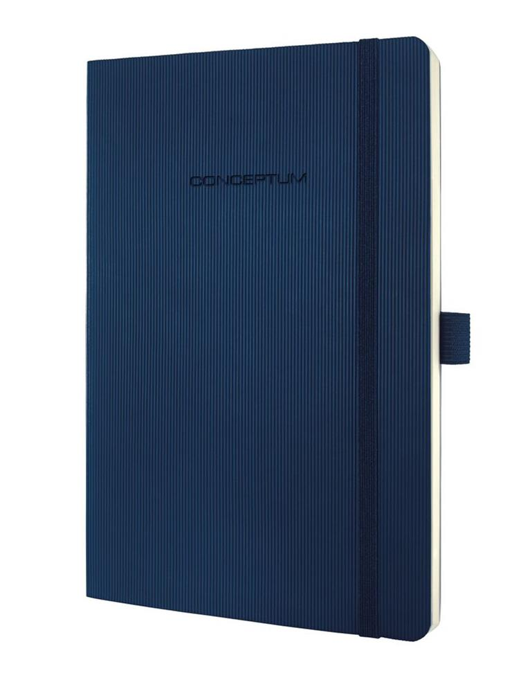 Image for Sigel Concept Notebook Softcover Lined 80gsm 194pp PEFC A5 Blue Ref CO327