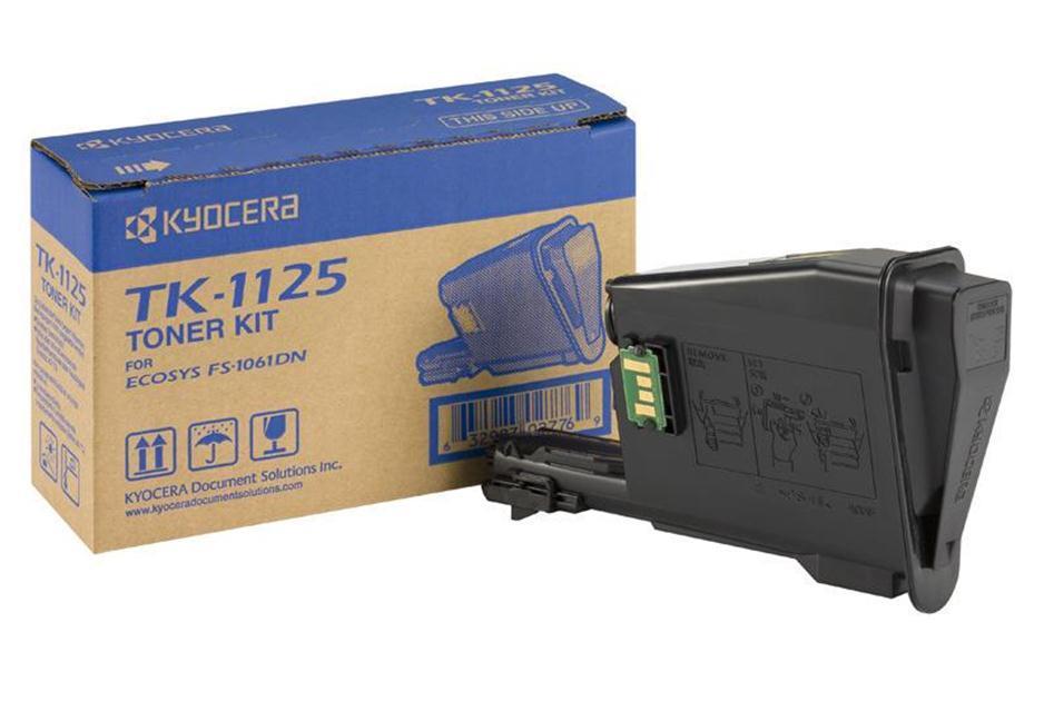 Kyocera TK1125 Toner Cartridge Page Life 2100pp Black Ref TK1125