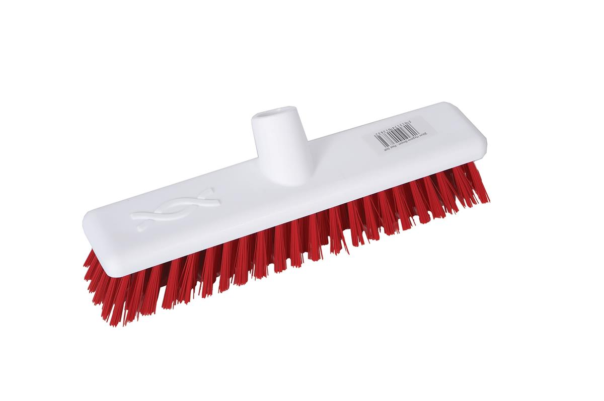 Robert Scott & Sons Abbey Hygiene Broom Head Hard Washable 12in Red Ref 102903RED