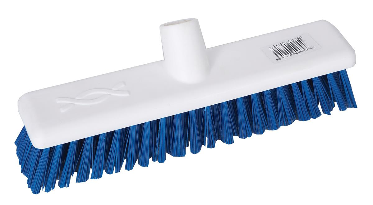 Robert Scott & Sons Abbey Hygiene Broom Head Hard Washable 12in Blue Ref 102903BLUE