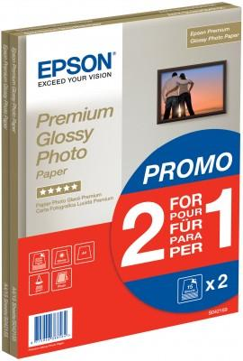 Epson Premium Glossy Photo Paper 255gsm A4 White Ref C13S042169 [30 Sheets]
