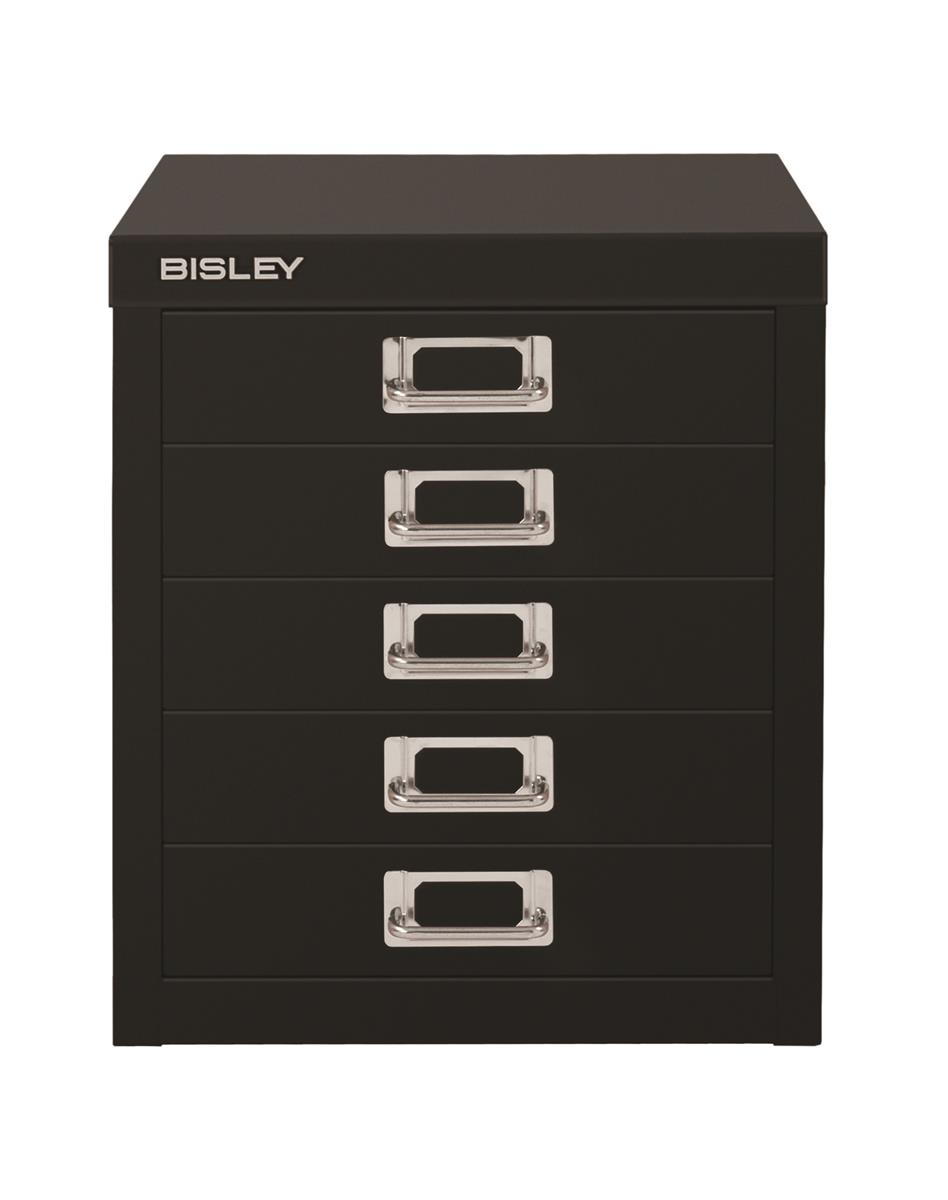 Image for Bisley SoHo Multidrawers 5-drawer 51mm Drawer Height Black