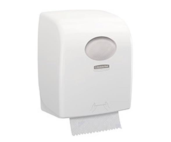 Image for AQUARIUS 7955 Rolled Hand Towel Dispenser White Ref 7955