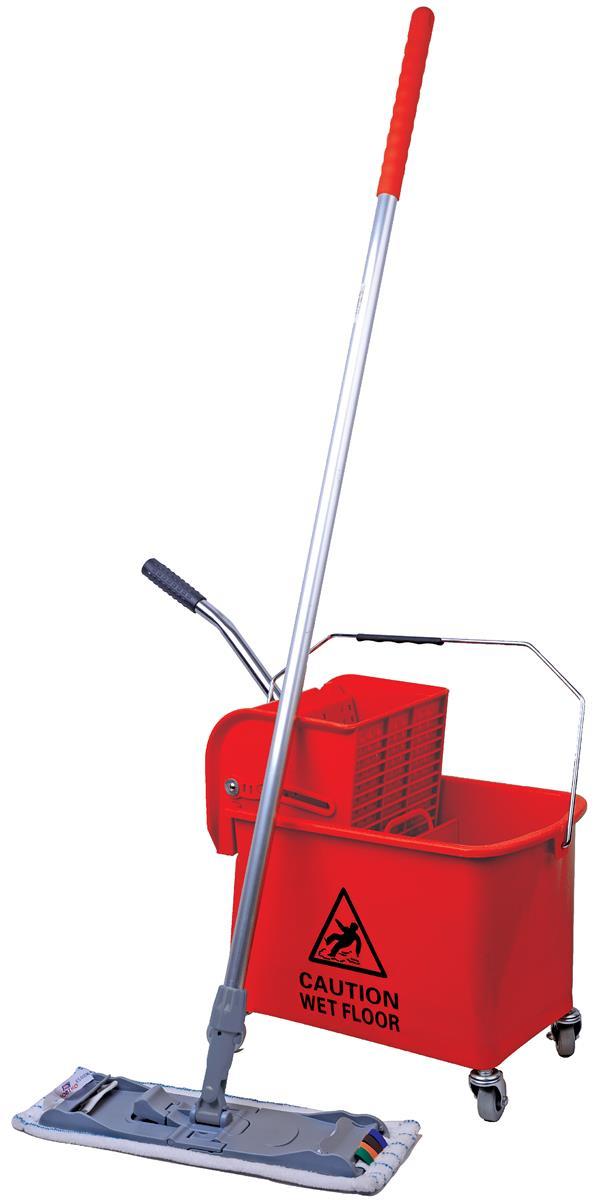 Robert Scott & Sons Microspeedy Mopping System Starter Kit Red Ref 101284 - Red KIT