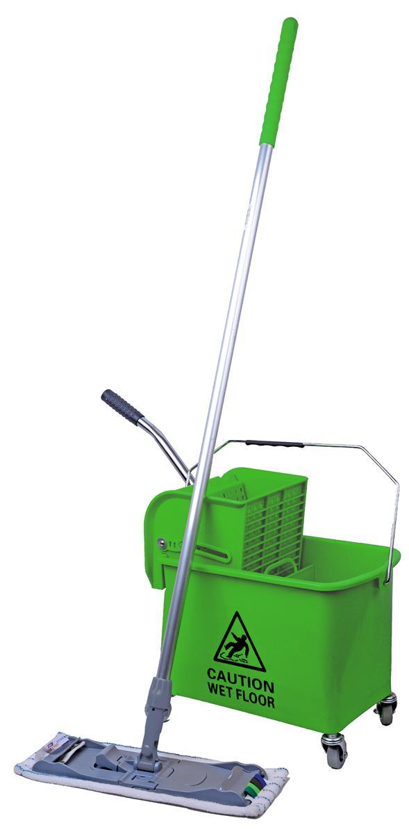 Robert Scott & Sons Microspeedy Mopping System Starter Kit Green Ref 101284 - Green KIT