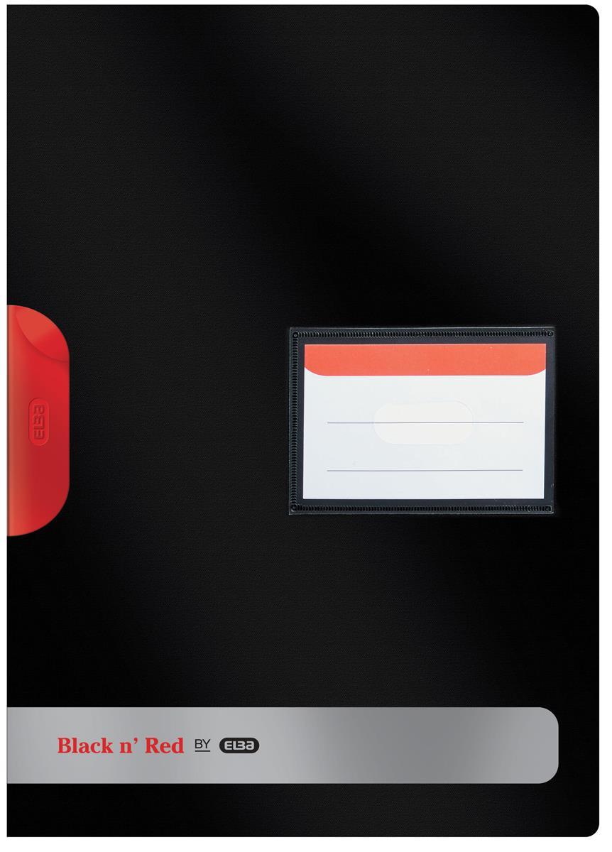 Black N Red Clip File BOGOF Ref 400063613 [2 For 1]  Jan-Dec 2018