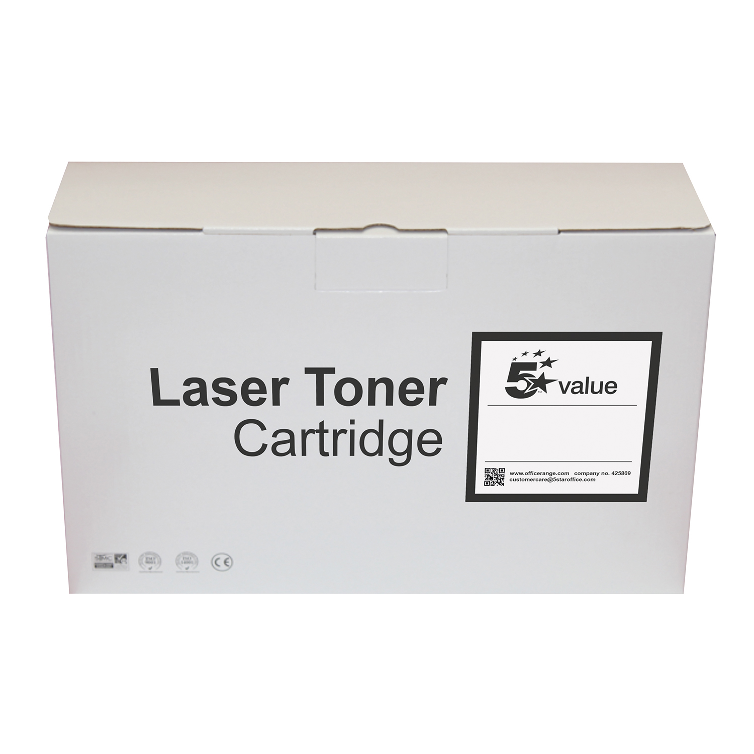 5 Star Value Remanufactured High Capacity Toner Cartridge Black [Brother TN2420 Alternative]